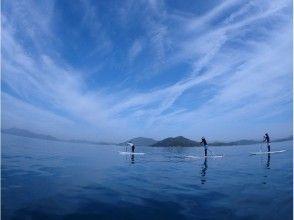 初心者におすすめ!穏やかな波の瀬戸内 百島でスタンドアップパドルに挑戦♪体験コースの画像