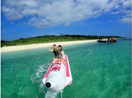 【沖縄・石垣島】半日コース・その数16種類!離島エリアに遠征&クリアブルーの海でマリンスポーツ遊び放題