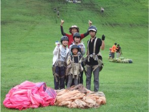[Hyogo Prefecture / Kannabe]Paragliding half-day petit experience! HONWAKA 2 hours flight-OK from 4 years old! Enjoy with your family!