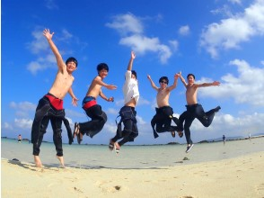 """[Ishigaki island Diving / Phantom Island / Morning] Excellent location! Let's shine on a miracle island on a white sand beach! """"Phantom island landing! & AM half-day experience Diving boat tour"""""""
