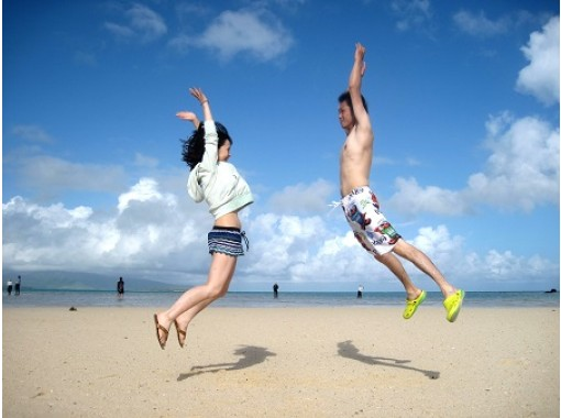 【石垣島シュノーケリング・幻の島・午前】抜群のロケーション!白い砂浜の奇跡の島で映えよう!幻の島上陸!&AMシュノーケリングボートツアーの紹介画像