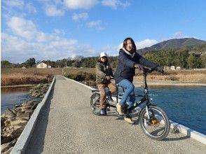 京都・亀岡 タンデム自転車サイクリング2時間コース