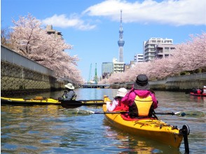 """[Tokyo / Edogawa] Exploring Tokyo with a full-scale Sea kayak Tokyo Waterway Kayak Tour (1day)"""""""