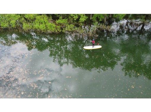 【山形・飯豊】幻想的な水没林でSUPorカヤック体験 ♪&メスティン料理体験の紹介画像