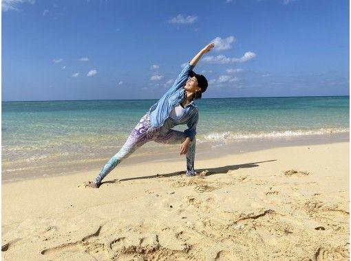 【沖縄・石垣島】ゆったりビーチヨガ体験・zoomオンラインヨガの紹介画像