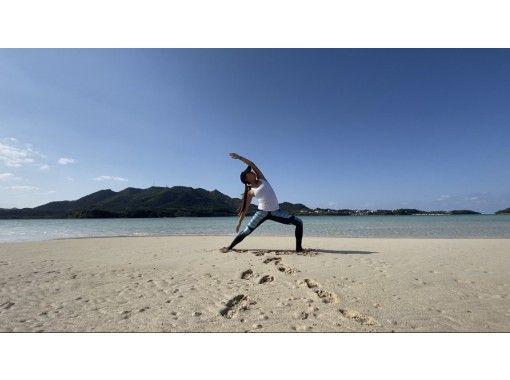 【沖縄・石垣島】しっかりビーチヨガ・zoomオンラインヨガの紹介画像