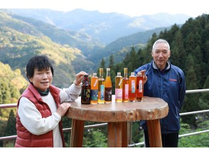 [Tokushima / Yoshino River] A healing time to enjoy plum wine made from home-grown plums with Mr. and Mrs. Sugi in the original scenery of Japan.