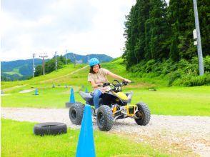 【新潟・湯沢 】NASPAニューオータニでバギー運転体験、気軽に爆走!ファミリーに人気!