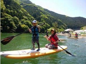 [นารา / โยชิโนะ] ปลอดภัยสำหรับมือใหม่! ทะเลสาบ SUP ใน Otaki Ryujinko
