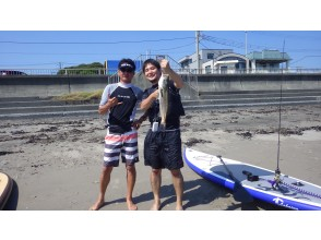 """Complete one-on-one private (per person) ・ """"SUP fishing ONE DAY plan with marine lunch"""""""
