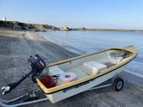 [Kanagawa / Hayama] Ship license required! Outboard motor boat rental plan for 3 people