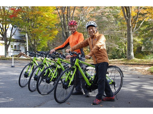 【山梨・八ヶ岳】Eバイクポタリングツアー の紹介画像