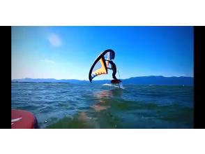 【滋賀県 琵琶湖】ウイング ボード 体験コース