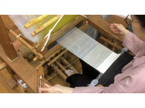 [Around Kamigamo Shrine, Kita-ku, Kyoto] Two types of weaving experience Plain weave & twill weave & workshop tour Experience the highest peak of Nishiki traditional weaving! * One person plan
