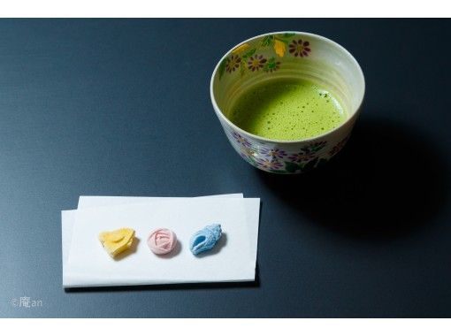 【京都・下京区】お抹茶とお干菓子&練り切り和菓子作り体験!素敵なお茶の世界へようこそ!五条駅より徒歩1分の紹介画像