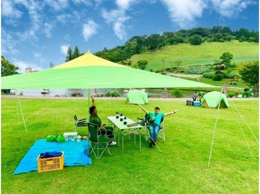 <平日限定>大人の日帰りアドベンチャーキャンプ+「日本最大級」六甲山アスレチックパークGREENIA