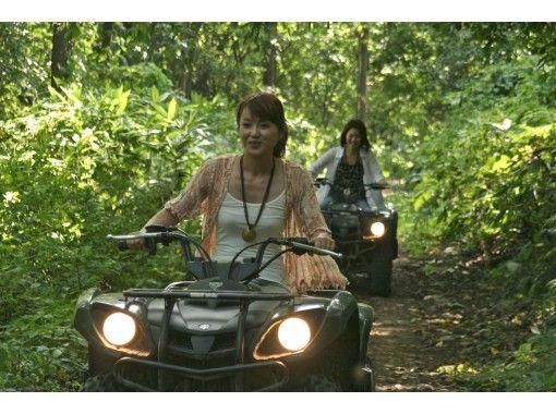 【北海道・札幌市】札幌市中心部より車で約25分!手ぶらで体験!ATV(四輪バギー)で自然を体感!