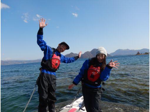 【北海道・洞爺湖】洞爺湖SUP体験ツアー!雄大で美しいカルデラ湖でまったりSUPを楽しもう♪