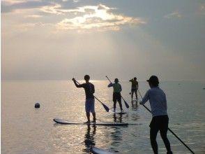 [Tokushima: Komatsu Beach] SUP lesson Take a walk on the sea while experiencing SUP