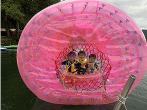 【長野・大町市 】透明度抜群の青木湖で遊ぼ!青木湖 水の腕白遊園地【ランチorBBQ付きコースあり】