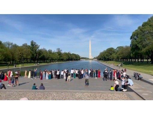 【オンラインツアー】5/22(土)開催 ワシントンD.C. リンカーンメモリアル〜ワシントンモニュメント新緑ウォークの紹介画像