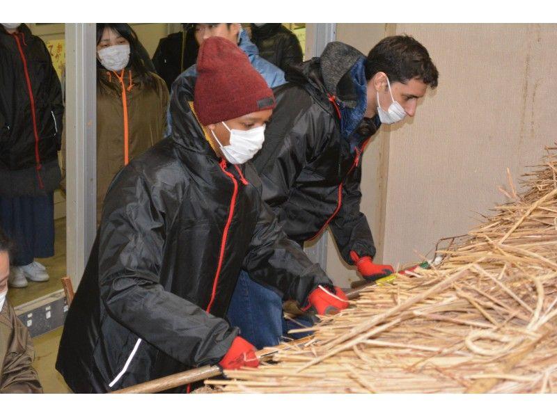 【福島県・南会津】エコでサスティナブルな茅葺き屋根の作り方体験の紹介画像