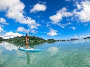 【冲绳/石垣岛】石垣岛美丽海滩上的SUP!早课!欢迎女性、初学者和一人参加!