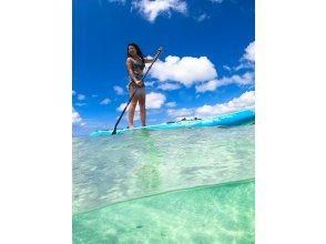 【冲绳/石垣岛】石垣岛美丽海滩上的SUP!下午课程!欢迎女性、初学者和一人参加!