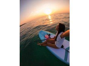 【冲绳/石垣岛】石垣岛美丽海滩上的SUP!日落课程!欢迎女性、初学者和一人参加!