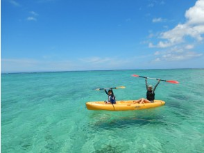 [Churaumi Aquarium, Nakijin Village area, hidden beach held] 1 group reserved! Sea kayaking & snorkeling! Photo data / drink service ♪