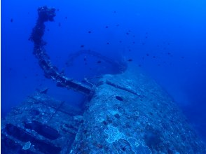 [Northern Okinawa Island] USS Emmons wreck diving (2 dives) limited to 1 group
