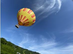 [Iwate / Geto Kogen] Hot-air balloons / Children and elderly people can feel free to experience it!