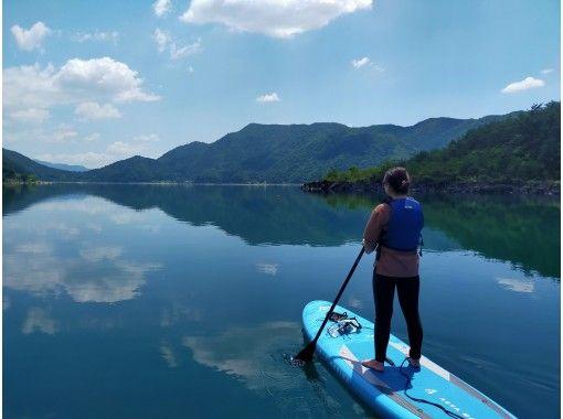 【山梨・富士五湖・西湖】人気!湖上散歩ができる西湖SUP体験120分プラン
