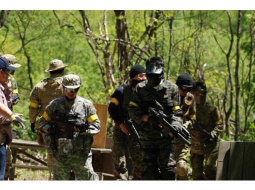 【北海道・札幌市】北海道大自然フィールドでサバイバルゲーム!!&炭火バーベキュー!!