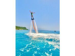 海滩派对烧烤 + 海上运动在冲绳畅玩 2 小时(带儿童游泳池)免费照片礼物♡