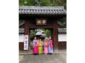 桜プラン(袴)卒業記念や思い出作りに足利のまちを散策♪
