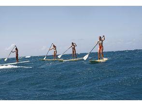 [Shiga ทะเลสาบบิวะ] เป็นครั้งแรกของการฝึกอบรมประสบการณ์ SUP