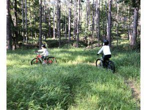 朝活!!【長野県・北白樺高原(白樺湖、車山)】早朝マウンテンバイク体験  涼しく、爽やかな早朝ライドを! 完全貸切で安心です♪