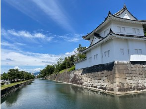 HIS Super Summer Sale in progress! [Sengoku guide will guide you! 】outer moat! Uchibori! Nijo Castle Tour Seen from Ishigaki ★ If you go around Nijo Castle, you will hit the history! ??