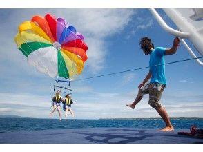 【沖縄・石垣島】パラセーリング100mロープ《レギュラーフライト》