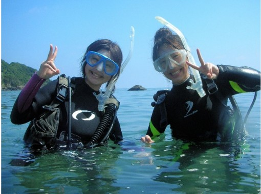 [Wakayama / Shirahama] to the first time of the underwater world in the diving! (Discover Scuba diving course)の紹介画像