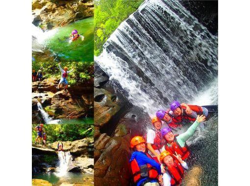 【西表島 半日コース】夏限定クールダウン!おすすめキャニオニング滝遊びコース【ツアー写真データ無料】