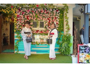 [Tokyo / Asakusa] <Lace Yukata Plan> Very popular !! Gentle and light-colored lace yukata dressing, including hair set Safe price