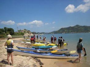 [Hiroshima Fukuyama, Onomichi-Shimanami] sea kayak novice experience, half-day experience course