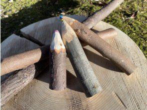 【三重・多気】森の素材で木の色えんぴつをつくろう!お子さまにおすすめ!