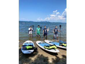 【滋賀・琵琶湖】琵琶湖でSUPデビューしよう!正しいSUPを学べるプラン(初心者向け)