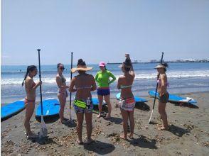 【神奈川・江ノ島】手ぶらに気軽に海上散歩 SUP体験コース