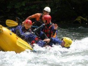 【北海道・十勝川】激流を川下り!ラフティングツアー(半日コース)の画像