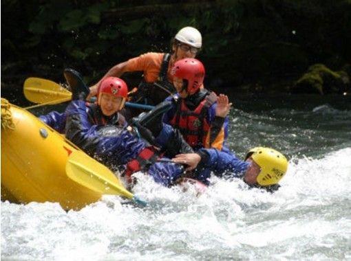 [Hokkaido ・ Tokachigawa] River down the torrent! Rafting Tours(half-day course)の紹介画像
