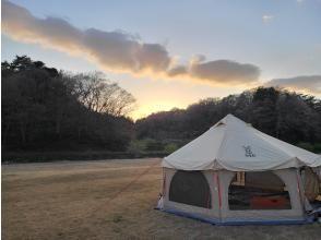 【福島県・いわき市】1日1組限定・いわきの夜を独り占め!キャンプフィールド貸切プラン!トマトのテーマパークワンダーファーム